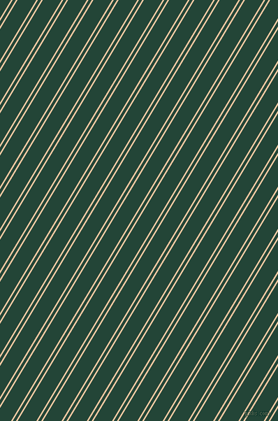 59 degree angles dual striped line, 2 pixel line width, 4 and 23 pixels line spacing, Peach and Burnham dual two line striped seamless tileable