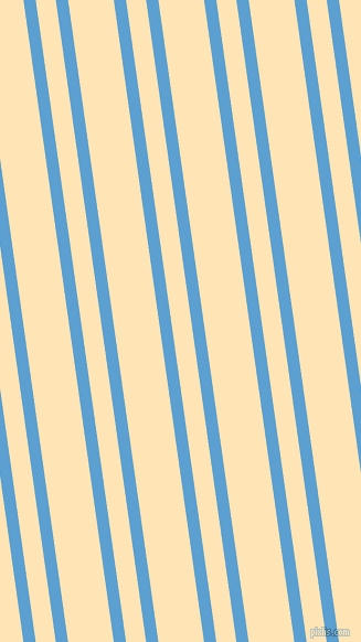 98 degree angles dual stripes line, 11 pixel line width, 18 and 41 pixels line spacing, Picton Blue and Moccasin dual two line striped seamless tileable
