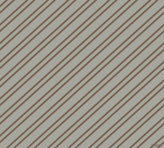 42 degree angle dual striped line, 6 pixel line width, 10 and 24 pixel line spacing, Pine Cone and Foggy Grey dual two line striped seamless tileable