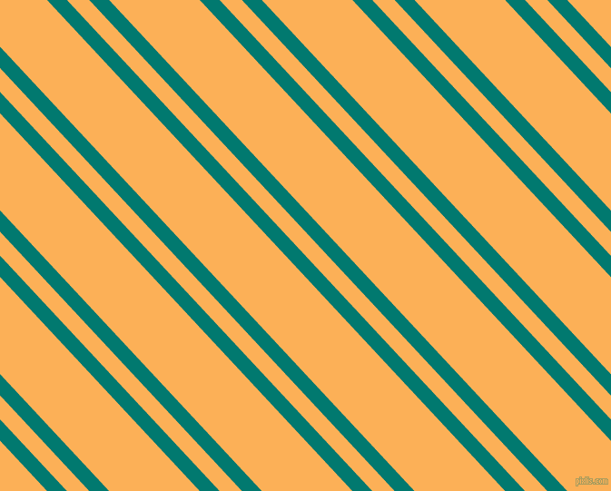 133 degree angles dual stripes line, 16 pixel line width, 18 and 73 pixels line spacing, Pine Green and Texas Rose dual two line striped seamless tileable