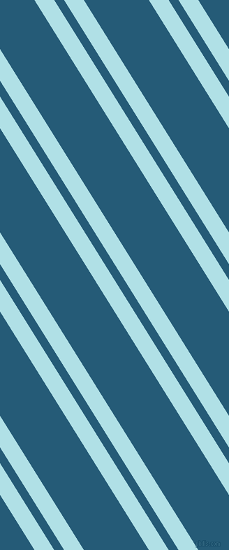 122 degree angles dual striped lines, 24 pixel lines width, 12 and 79 pixels line spacing, Powder Blue and Orient dual two line striped seamless tileable
