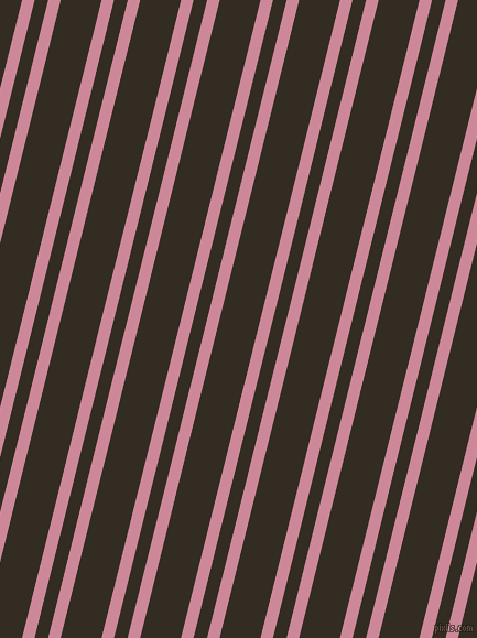 76 degree angle dual striped line, 11 pixel line width, 12 and 36 pixel line spacing, Puce and Black Magic dual two line striped seamless tileable