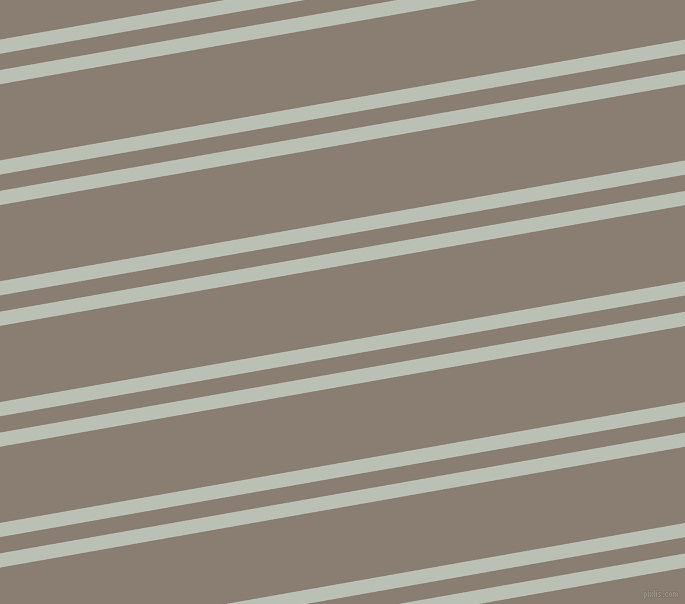 10 degree angles dual striped line, 14 pixel line width, 16 and 75 pixels line spacing, Pumice and Americano dual two line striped seamless tileable