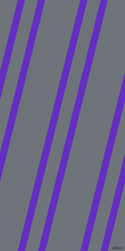 76 degree angle dual striped lines, 23 pixel lines width, 42 and 112 pixel line spacing, Purple Heart and Raven dual two line striped seamless tileable