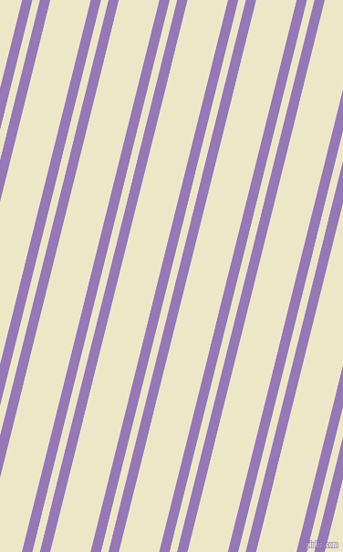 76 degree angle dual stripes lines, 11 pixel lines width, 8 and 43 pixel line spacing, Purple Mountain