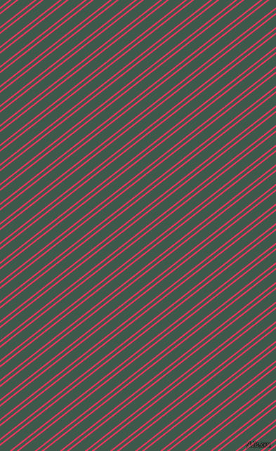 38 degree angles dual stripe lines, 2 pixel lines width, 4 and 14 pixels line spacing, Radical Red and Plantation dual two line striped seamless tileable