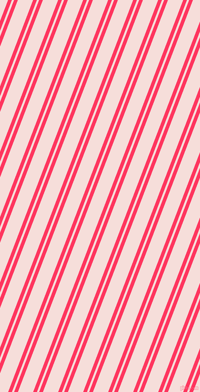 69 degree angle dual stripes lines, 7 pixel lines width, 4 and 28 pixel line spacing, Radical Red and Remy dual two line striped seamless tileable