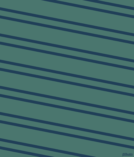 169 degree angles dual stripe lines, 10 pixel lines width, 18 and 52 pixels line spacing, Regal Blue and Dark Green Copper dual two line striped seamless tileable