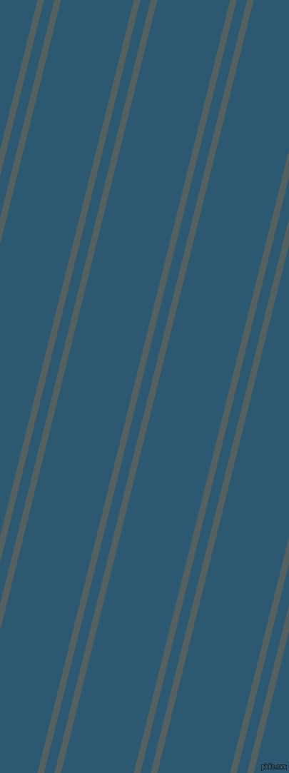 76 degree angles dual stripe lines, 9 pixel lines width, 14 and 99 pixels line spacing, River Bed and Chathams Blue dual two line striped seamless tileable