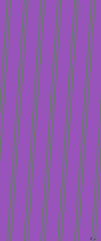 86 degree angle dual stripe lines, 6 pixel lines width, 6 and 41 pixel line spacing, Rolling Stone and Deep Lilac dual two line striped seamless tileable