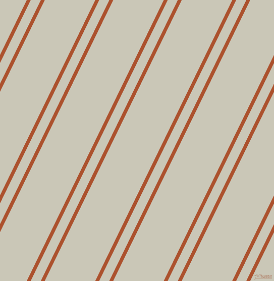 64 degree angles dual stripes line, 7 pixel line width, 18 and 90 pixels line spacing, Rose Of Sharon and Chrome White dual two line striped seamless tileable