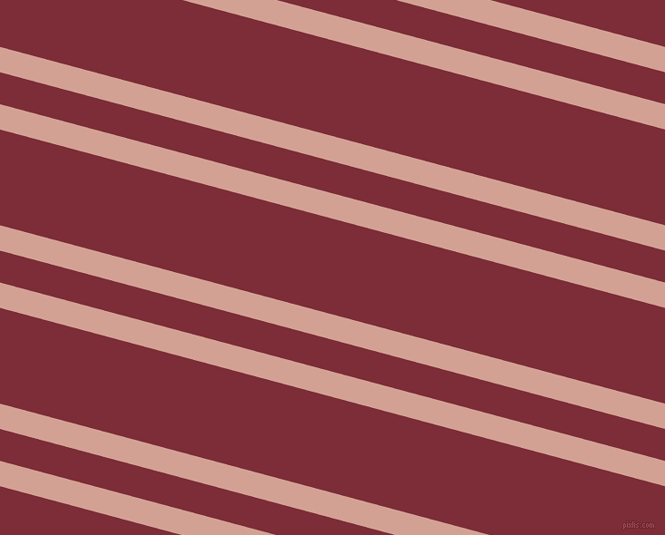 165 degree angles dual stripe line, 27 pixel line width, 34 and 102 pixels line spacing, Rose and Paprika dual two line striped seamless tileable
