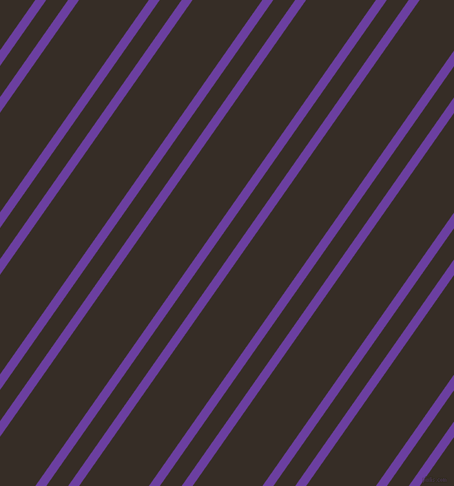 55 degree angles dual stripe line, 13 pixel line width, 26 and 83 pixels line spacingRoyal Purple and Coffee Bean dual two line striped seamless tileable