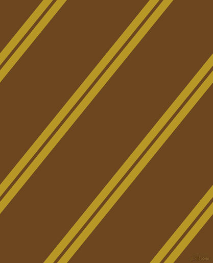51 degree angles dual striped line, 15 pixel line width, 6 and 126 pixels line spacing, Sahara and Antique Brass dual two line striped seamless tileable