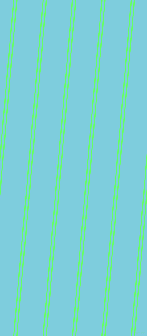 85 degree angles dual striped lines, 4 pixel lines width, 6 and 81 pixels line spacing, Screamin