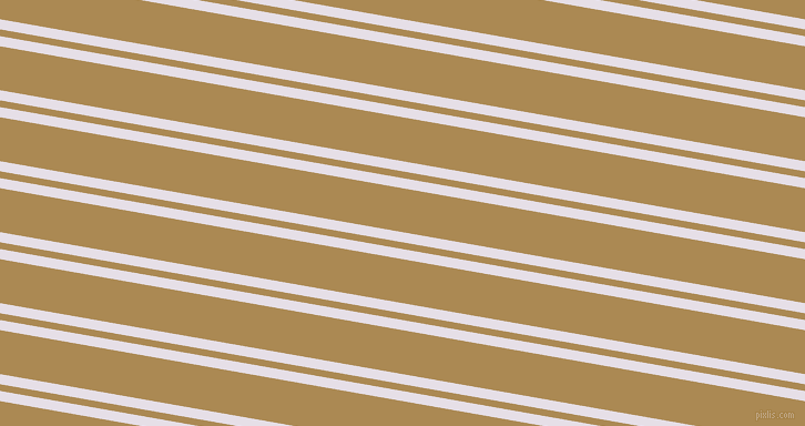 170 degree angles dual striped line, 9 pixel line width, 6 and 39 pixels line spacing, Selago and Teak dual two line striped seamless tileable