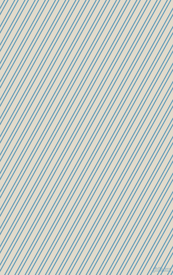 61 degree angle dual stripe lines, 2 pixel lines width, 4 and 10 pixel line spacing, Shakespeare and Albescent White dual two line striped seamless tileable