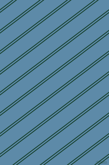 37 degree angle dual striped lines, 3 pixel lines width, 4 and 44 pixel line spacing, Sherwood Green and Air Force Blue dual two line striped seamless tileable