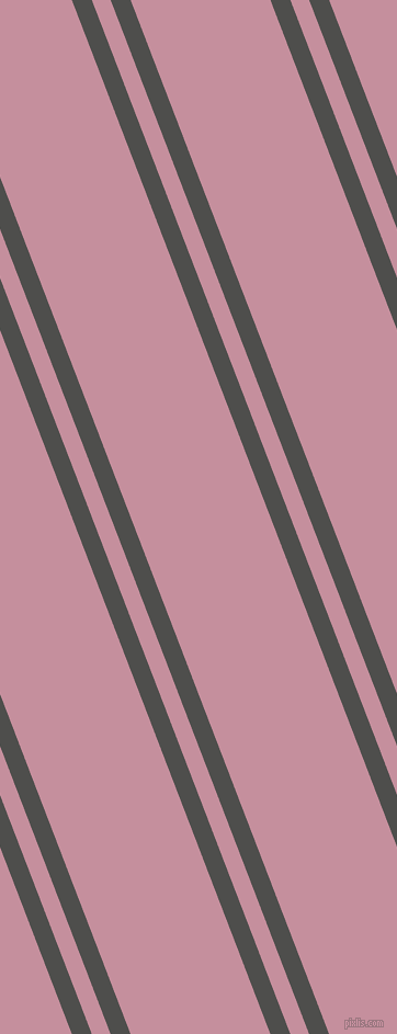 111 degree angles dual stripe line, 17 pixel line width, 16 and 119 pixels line spacing, Ship Grey and Viola dual two line striped seamless tileable
