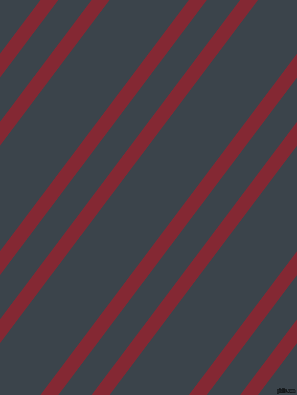 53 degree angle dual stripe line, 28 pixel line width, 52 and 124 pixel line spacing, Shiraz and Arsenic dual two line striped seamless tileable