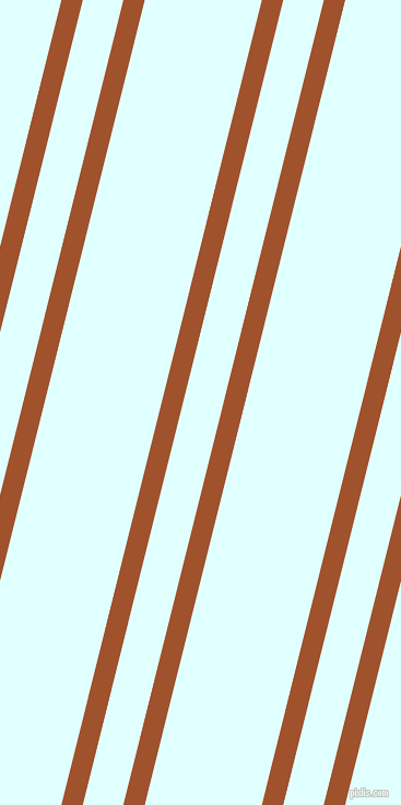 76 degree angles dual stripe lines, 19 pixel lines width, 36 and 104 pixels line spacing, Sienna and Light Cyan dual two line striped seamless tileable
