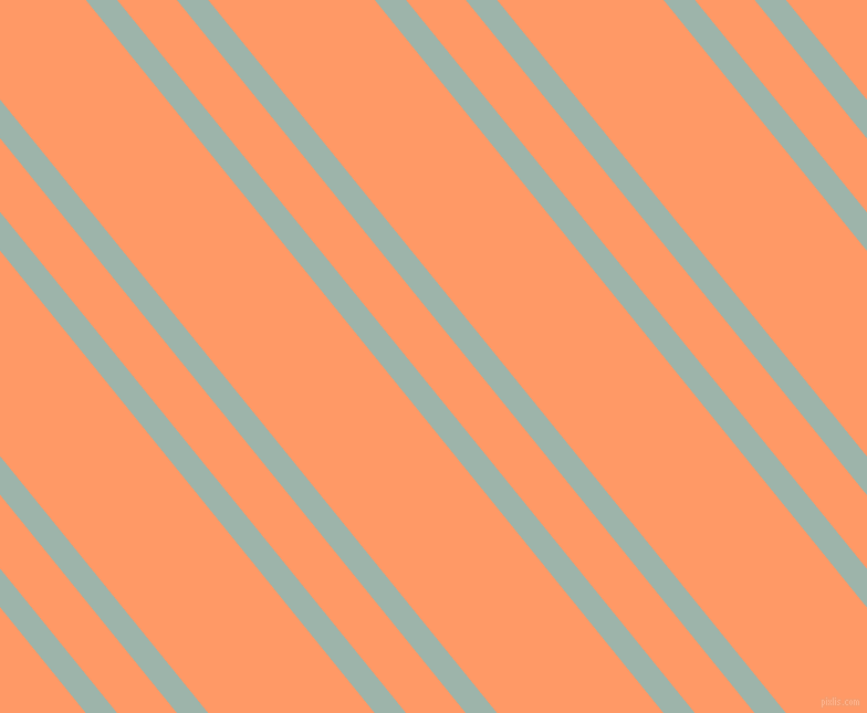 129 degree angle dual striped line, 22 pixel line width, 42 and 117 pixel line spacing, Skeptic and Atomic Tangerine dual two line striped seamless tileable