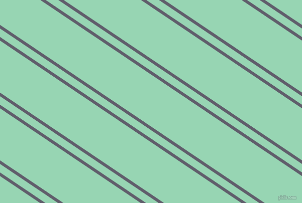 146 degree angles dual striped lines, 6 pixel lines width, 14 and 86 pixels line spacing, Smoky and Vista Blue dual two line striped seamless tileable