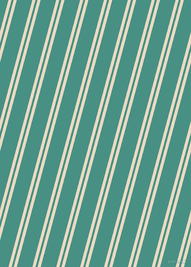 75 degree angle dual stripe line, 6 pixel line width, 4 and 30 pixel line spacing, Solitaire and Lochinvar dual two line striped seamless tileable
