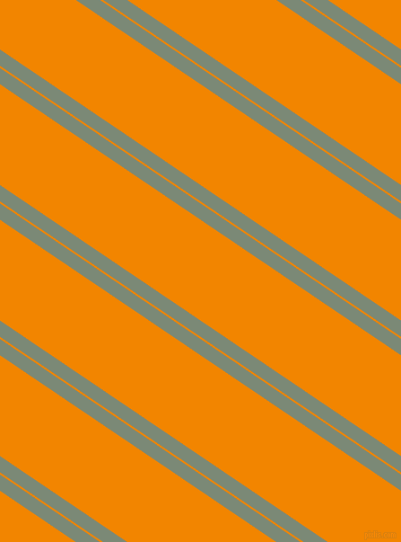 146 degree angles dual stripe lines, 15 pixel lines width, 2 and 93 pixels line spacing, Spanish Green and Tangerine dual two line striped seamless tileable