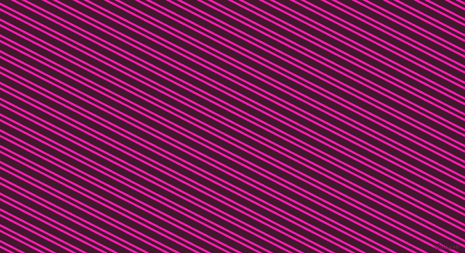 153 degree angle dual stripes lines, 3 pixel lines width, 4 and 10 pixel line spacing, Spicy Pink and Blackberry dual two line striped seamless tileable