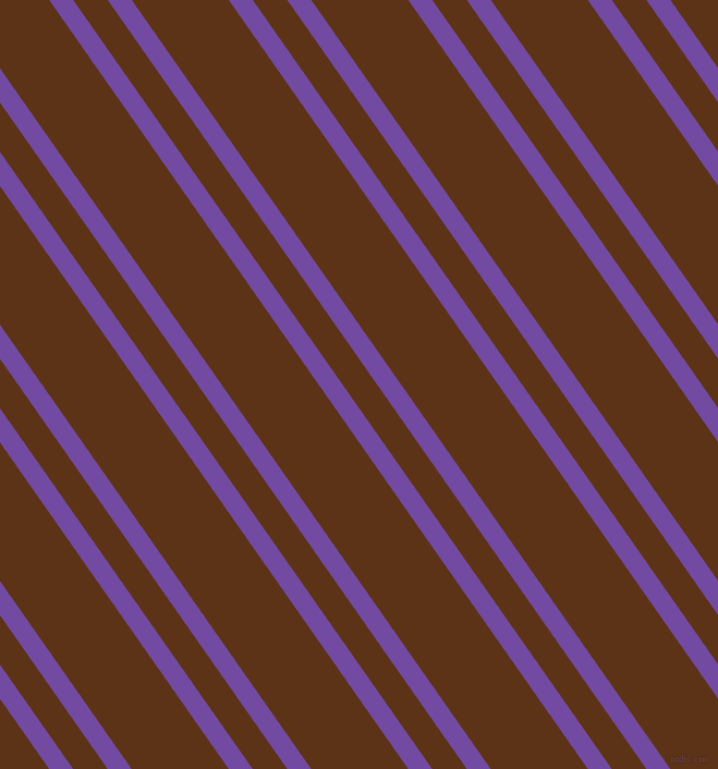 125 degree angle dual stripes line, 18 pixel line width, 26 and 73 pixel line spacingStudio and Baker's Chocolate dual two line striped seamless tileable