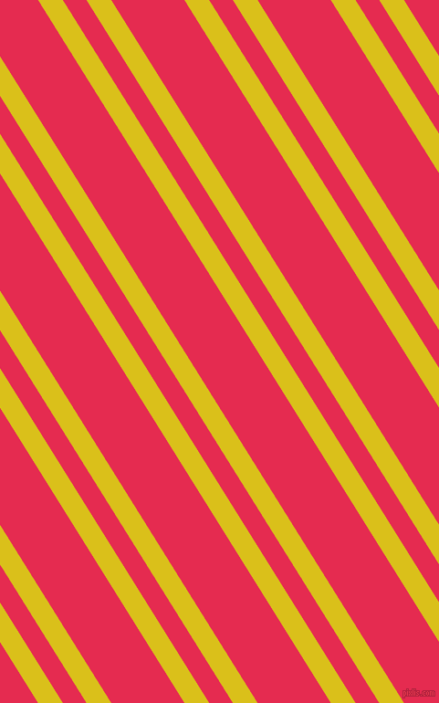 122 degree angles dual stripes line, 23 pixel line width, 22 and 68 pixels line spacing, Sunflower and Amaranth dual two line striped seamless tileable