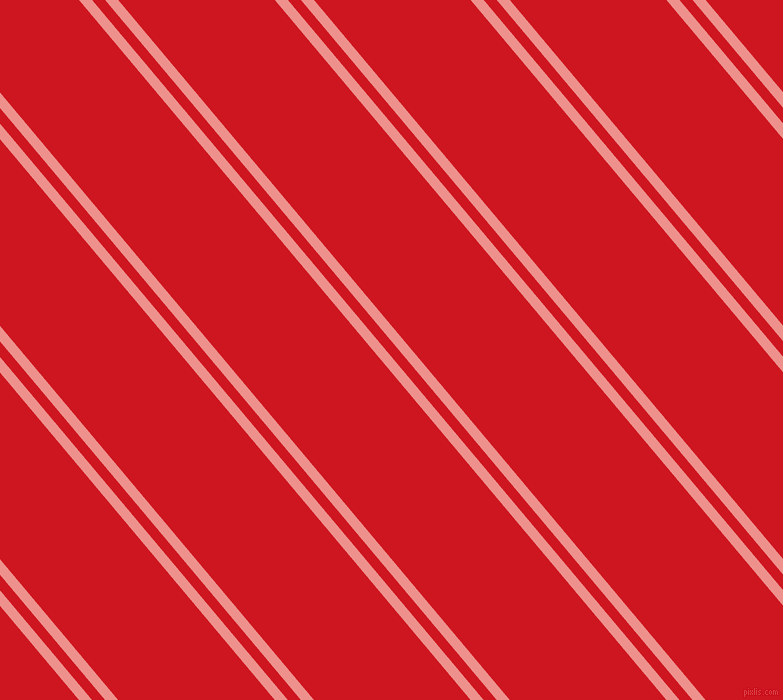 130 degree angles dual stripe lines, 10 pixel lines width, 10 and 120 pixels line spacing, Sweet Pink and Fire Engine Red dual two line striped seamless tileable