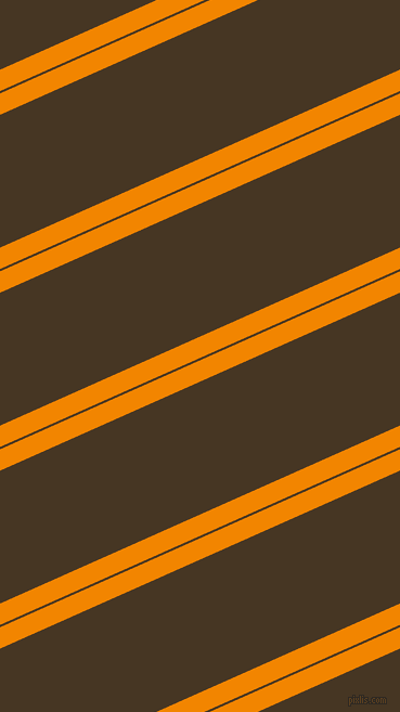 24 degree angles dual stripes line, 18 pixel line width, 2 and 112 pixels line spacingTangerine and Clinker dual two line striped seamless tileable