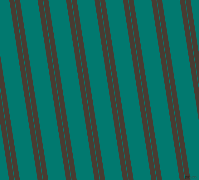 99 degree angle dual striped lines, 16 pixel lines width, 2 and 56 pixel line spacing, Taupe and Pine Green dual two line striped seamless tileable