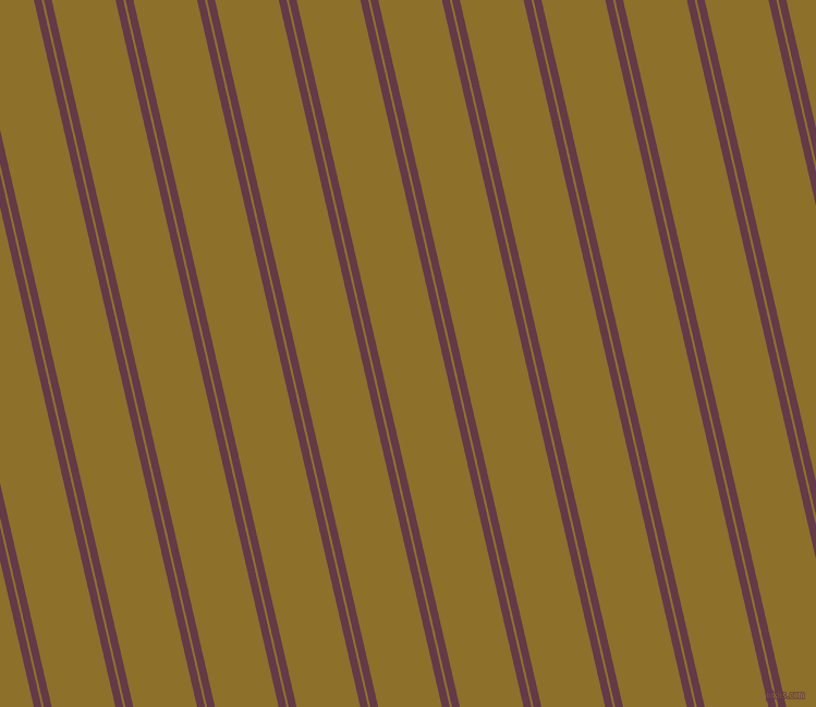 103 degree angle dual stripe line, 7 pixel line width, 2 and 57 pixel line spacing, Tawny Port and Corn Harvest dual two line striped seamless tileable