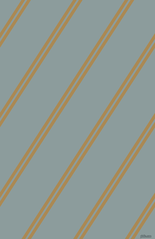 57 degree angle dual striped line, 10 pixel line width, 6 and 116 pixel line spacing, Teak and Submarine dual two line striped seamless tileable