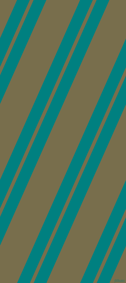 66 degree angle dual striped lines, 41 pixel lines width, 12 and 108 pixel line spacing, Teal and Go Ben dual two line striped seamless tileable