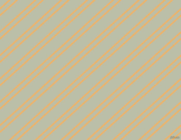 42 degree angles dual striped lines, 5 pixel lines width, 14 and 43 pixels line spacing, Texas Rose and Beryl Green dual two line striped seamless tileable