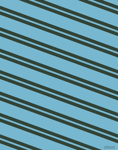 160 degree angles dual stripe line, 11 pixel line width, 6 and 39 pixels line spacing, Timber Green and Seagull dual two line striped seamless tileable