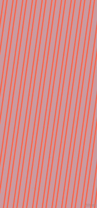 82 degree angles dual striped lines, 4 pixel lines width, 8 and 15 pixels line spacing, Tomato and Careys Pink dual two line striped seamless tileable