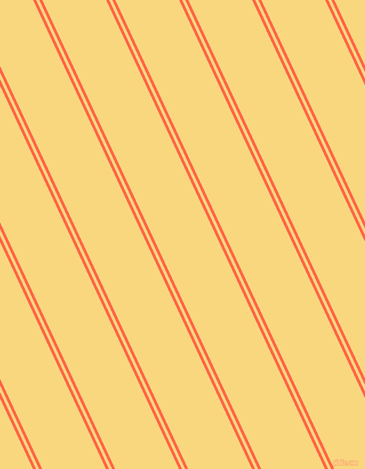 115 degree angle dual stripes lines, 4 pixel lines width, 4 and 83 pixel line spacing, Tomato and Golden Glow dual two line striped seamless tileable