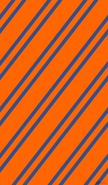 52 degree angle dual stripe lines, 12 pixel lines width, 18 and 57 pixel line spacing, Tory Blue and Safety Orange dual two line striped seamless tileable