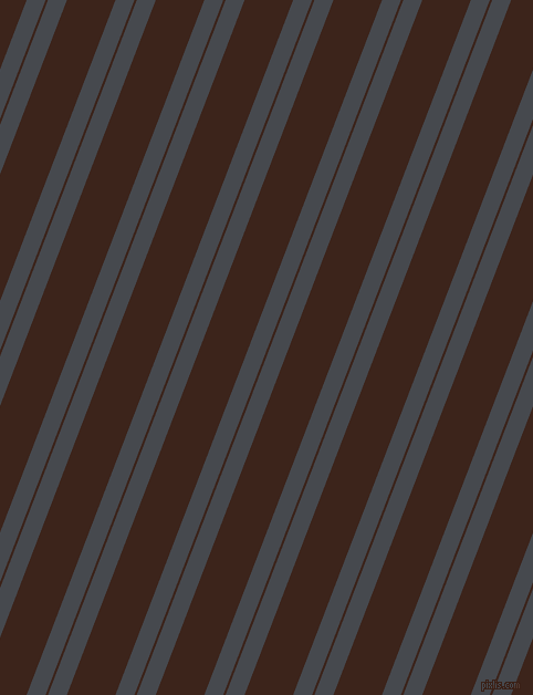 69 degree angles dual striped line, 16 pixel line width, 2 and 41 pixels line spacing, Tuna and Brown Pod dual two line striped seamless tileable