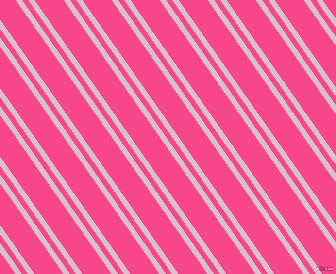 125 degree angles dual striped line, 11 pixel line width, 10 and 49 pixels line spacing, Twilight and Violet Red dual two line striped seamless tileable