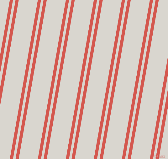 80 degree angles dual stripes lines, 10 pixel lines width, 8 and 60 pixels line spacing, Valencia and Timberwolf dual two line striped seamless tileable