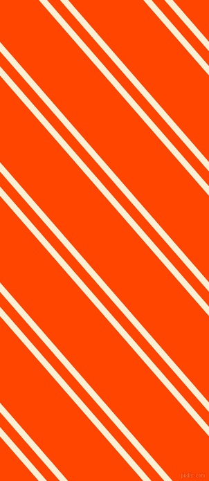 131 degree angle dual stripe line, 9 pixel line width, 14 and 82 pixel line spacing, Varden and Orange Red dual two line striped seamless tileable