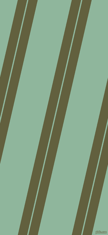 77 degree angles dual stripes lines, 29 pixel lines width, 4 and 106 pixels line spacing, Verdigris and Summer Green dual two line striped seamless tileable