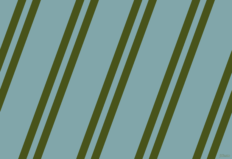 70 degree angles dual stripes lines, 26 pixel lines width, 20 and 111 pixels line spacing, Verdun Green and Ziggurat dual two line striped seamless tileable