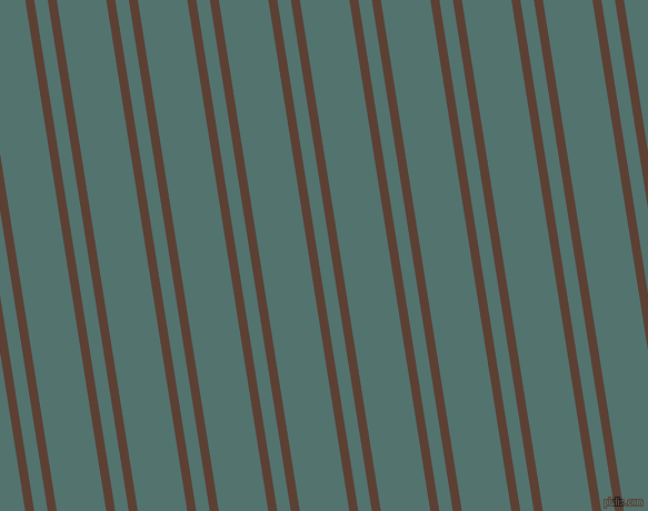 99 degree angle dual striped line, 8 pixel line width, 12 and 44 pixel line spacing, Very Dark Brown and William dual two line striped seamless tileable